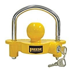 reese hitch trailer lock
