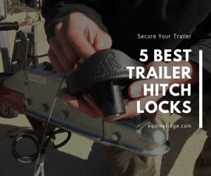 trailer hitch locks for coupler