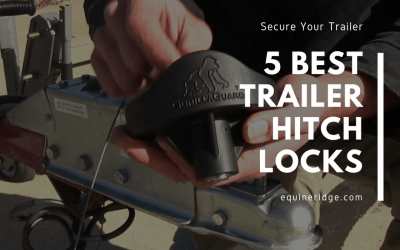 trailer hitch locks for coupler