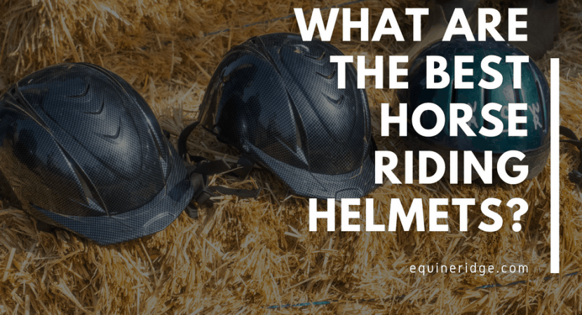 What are the best horse riding helmets?