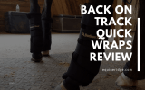 Back on Track Quick Wraps Review