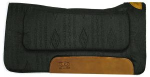 Weaver Leather Contoured Saddle Pad with Merino Wool Fleece Lining