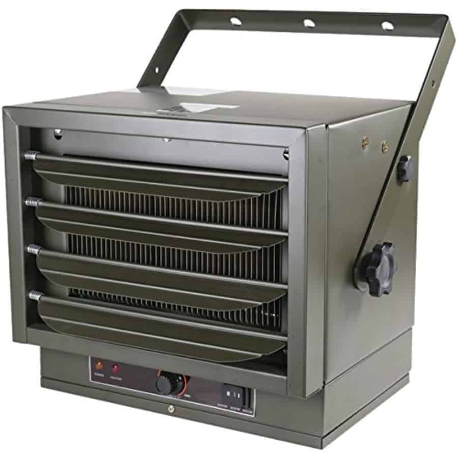 electric and propane heater for garages barns greenhouses shops and more